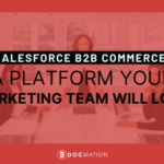 salesforce b2b commerce, salesforce b2b platform, b2b ecommerce